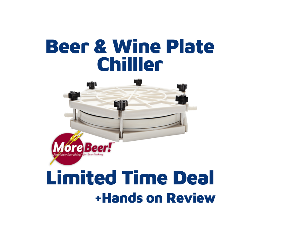 beer and wine plate chiller