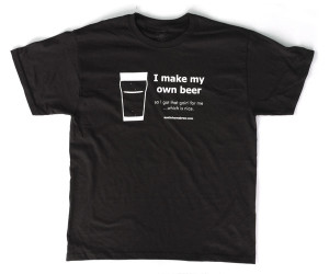 "Austin Homebrew Supply: ""I make my own beer"" T-Shirt – $7.99 ..."