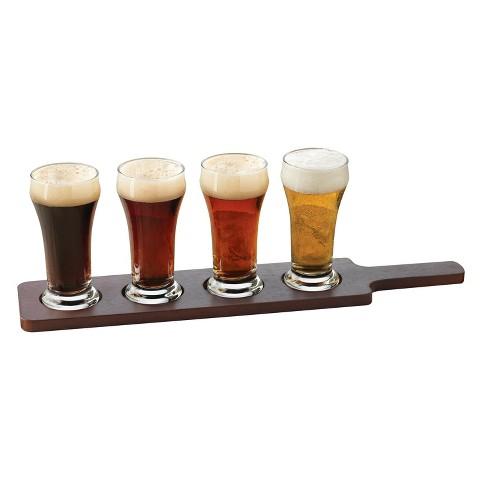 Libbey Craft Brew 5 Piece Beer Flight Set
