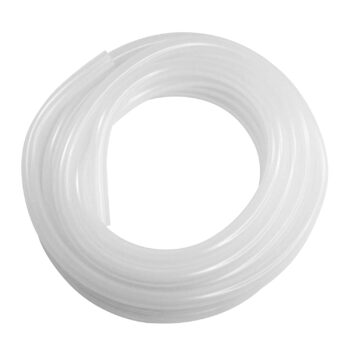 "White Silicone Tubing, 1/2""ID, 5/8""OD, 1/16"" Wall, 25' Length"