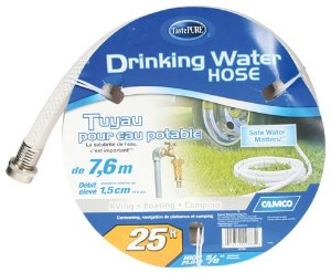 """Camco 22783 5/8"""" X 25' Reinforced Fresh Water Hose"""