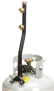 Stansport 3-Outlet Propane Distribution Post