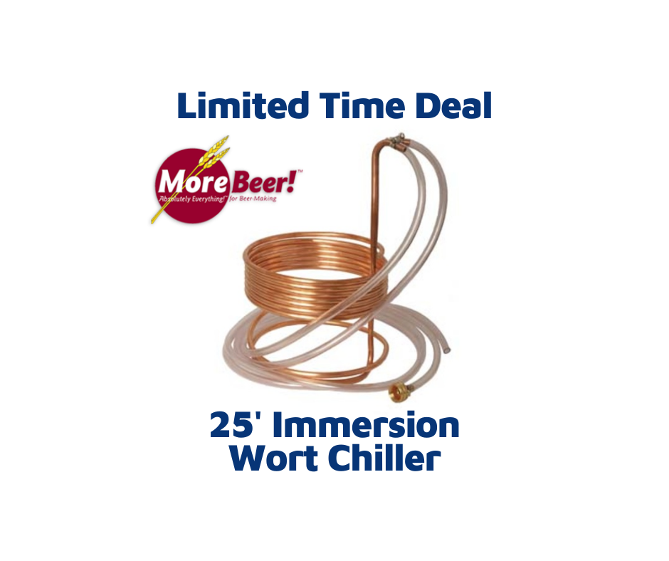 Immersion Wort Chiller - 25 ft. x 3/8 in. WC20