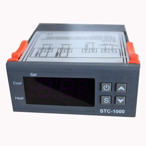 STC-1000 Dual Stage Temperature Controller Homebrew