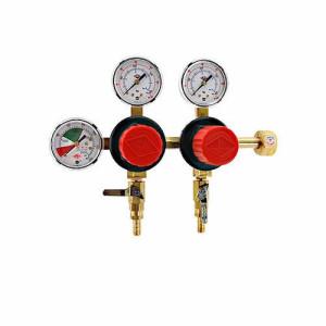 2 Product Dual Pressure CO2 Beer Regulator w/ Knobs Model:T752HP