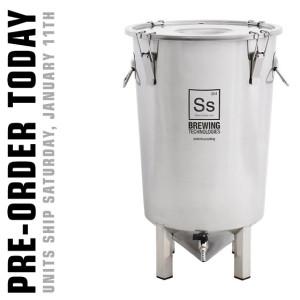Stainless Steel Fermentation Bucket - SS Brew Bucket
