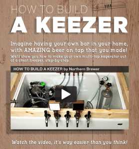 Northern Brewer How To Build A Keezer Step By Step