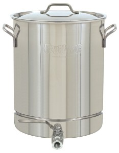 Bayou Classic 1064 Stainless 16-Gallon Stockpot with Spigot and Vented Lid