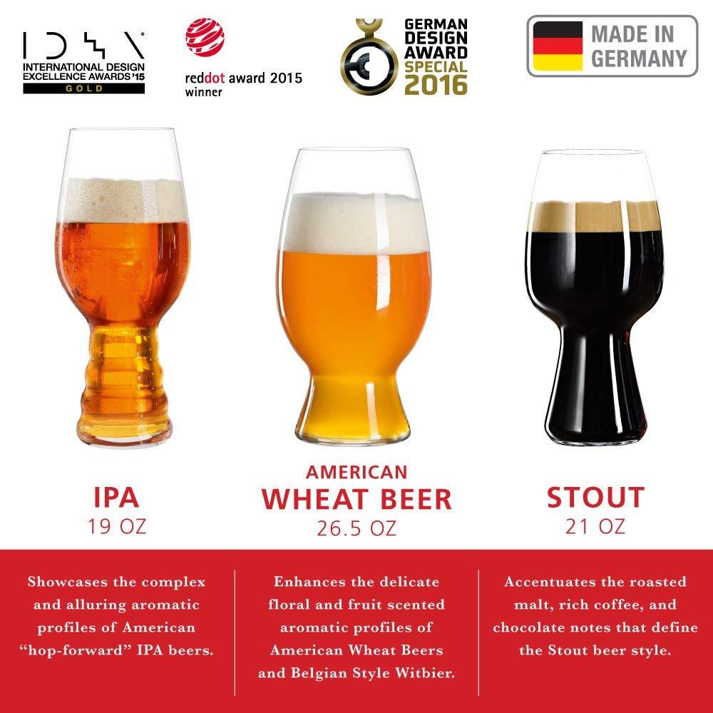 Spiegelau 4991693 Craft Beer Tasting Kit (set of 3)