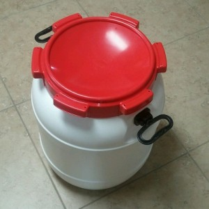 13 Gallon Food Safe Drums