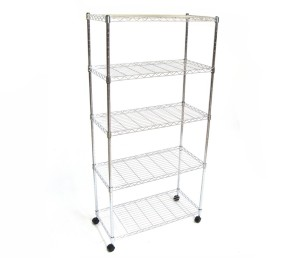 Seville Classics 5-Shelf, 14-Inch by 30-Inch by 60-Inch Shelving System