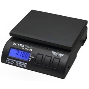 Ultraship 75 Lb Electronic Digital Shipping Postal Kitchen Scale