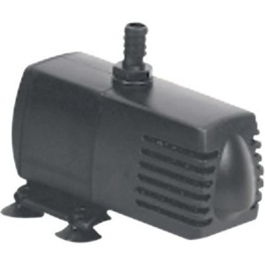 EcoPlus Submersible Pump - 132 gph - 4.3 ft. max - 9W - 3/8 in. ID