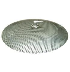 """12"""" Domed Stainless Steel False Bottom - AG405"""