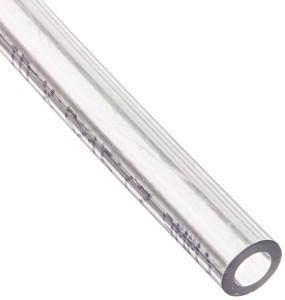 "ATP Vinyl-Flex PVC Food Grade Plastic Tubing, Clear, 3/16"" ID x 5/16"" OD, 100 feet Length"