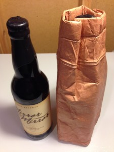 Hands on review insulated reusable 22 oz paper bag for Bomber bag review