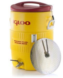 10 Gallon Converted Igloo Cooler Mash Tun With False Bottom