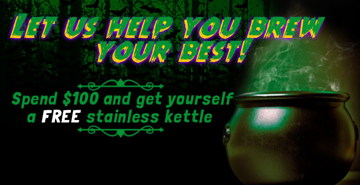 Midwest Supplies Free Kettle