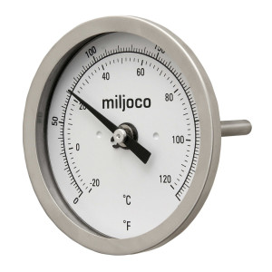 "Miljoco 2.5"" Stubby NPT Thermometer for BIAB"