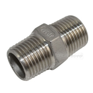 "1/2"" Hex NPT Nipple for Homebrewing"