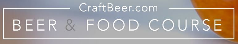 Free CraftBeer.com Beer and Food Course