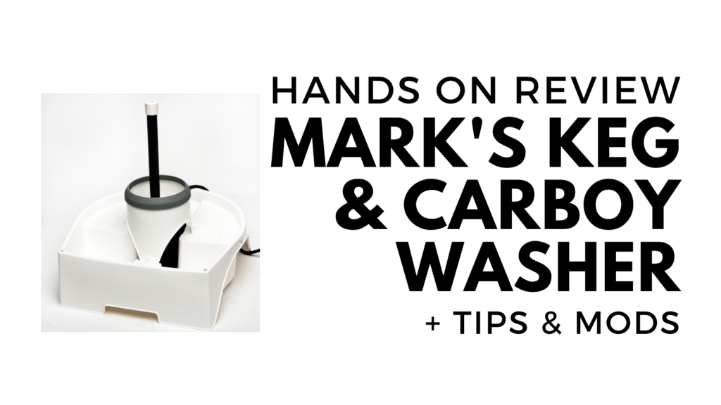 mark ii keg and carboy washer review