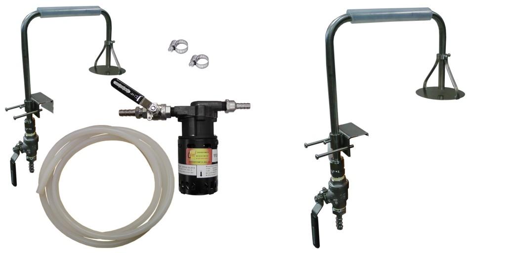 Stainless Sparge Arm Chugger Pump