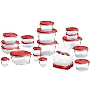 Rubbermaid 42-Piece Easy Find Lid Food Storage Set