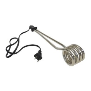 Large Volume Hot Water Coil Heater Soup and Coffee Heating Plug In Hot Water Cooking/Heater Tool