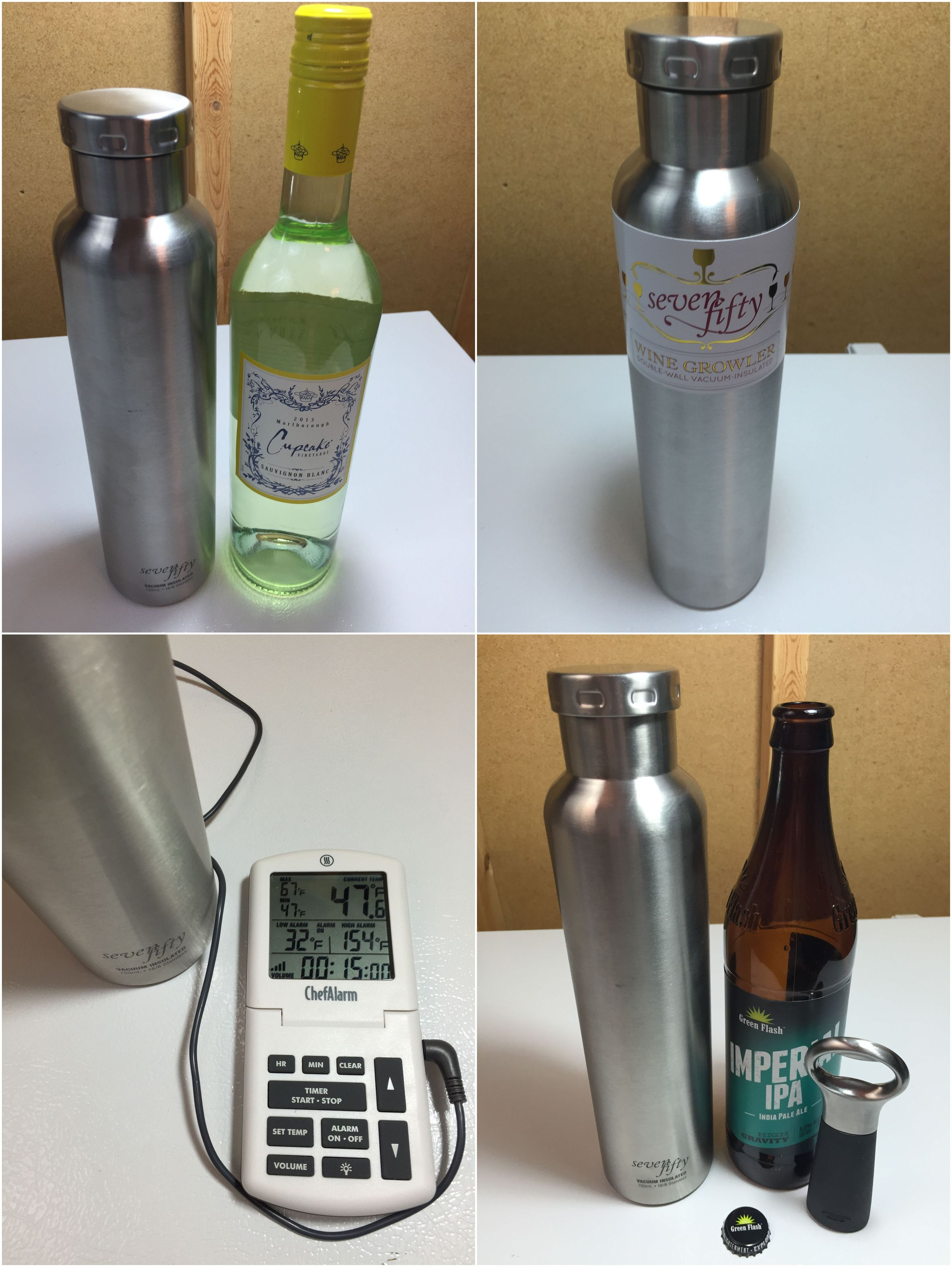 Review Lifeline Stainless Wine Growler