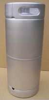 1/6 Barrel Kegs (metal handle) Sanke