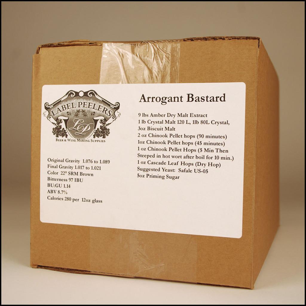 Arrogant Bastard Clone Homebrew Kit