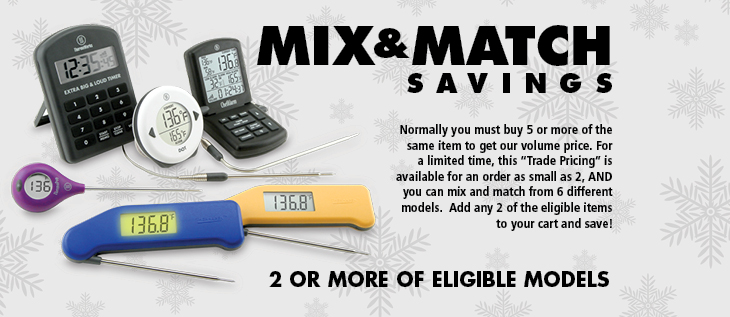 ThermoWorks Mix and Match Sale