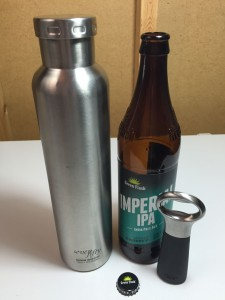 Stainless Growler Homebrew Winemaking