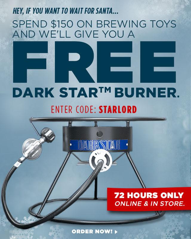 Dark Star Homebrew Propane Burner Northern Brewer