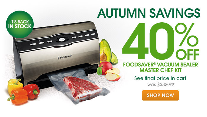 FoodSaver Master Chef Kit V3880