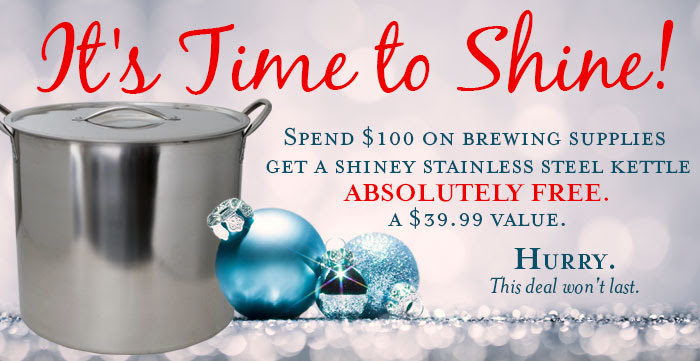 Free Stainless Kettle Sale Midwest Supplies