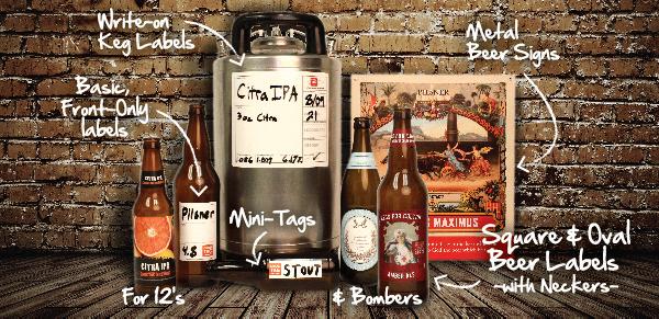 Homebrew Beer Label Templates