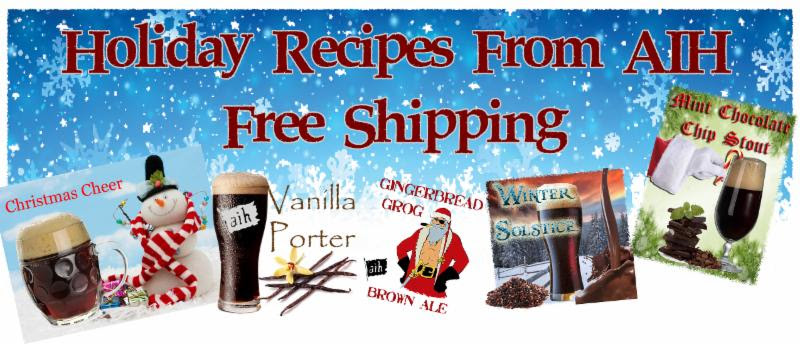 Holiday Homebrewing Beer Recipe Kits
