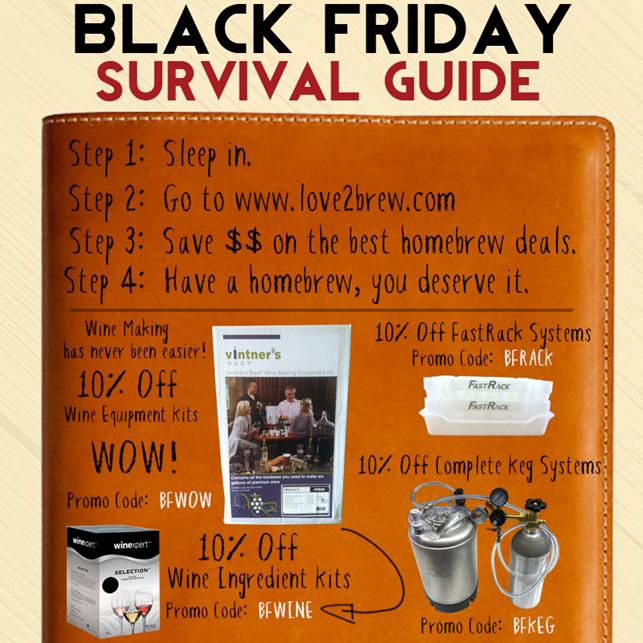 Love2Brew Black Friday Sale