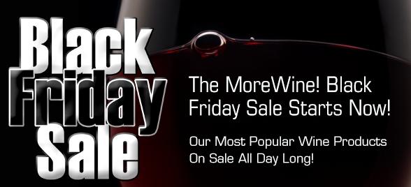 MoreWine Black Friday Sale
