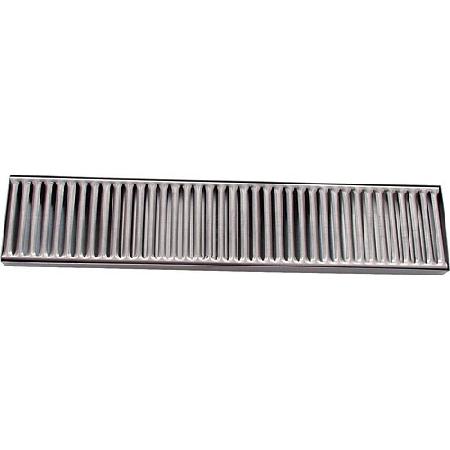 """Stainless Drip Tray 4"""" x 19"""" Countertop"""