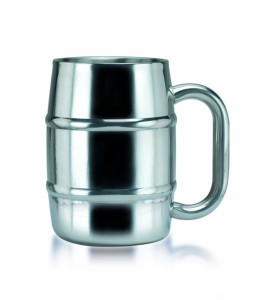 "Old Dutch ""Keep-Kool"" Double Wall Stainless Steel Mug, 16.9-Ounce"