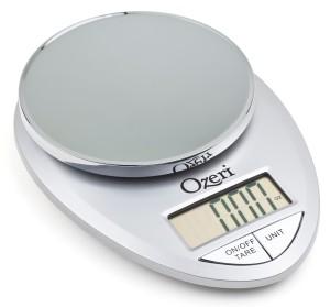 Ozeri Pro Digital Kitchen Food Scale, 1g to 12 lbs Capacity, Elegant Chrome