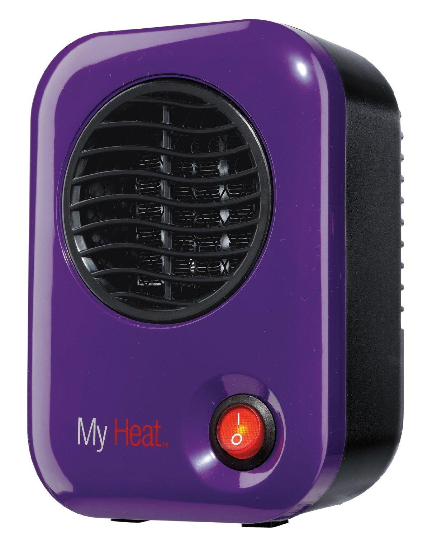 Lasko 106 My Heat Personal Ceramic Heater, Purple