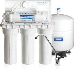 APEC Water - US Made - Premium Quality 90 GPD High-Flow Reverse Osmosis Drinking Water Filter System (RO-90)
