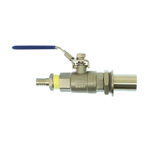 Homebrew Kettle Conversion Kit - Stainless Steel