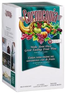 Cornucopia Fruit Wine Making Kit, White Green Apple Pinot Bianco, 17.5-Pound Box