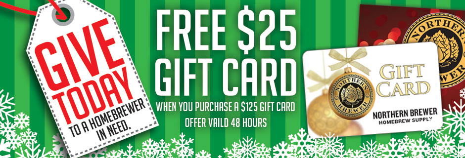 Free Northern Brewer Gift Card
