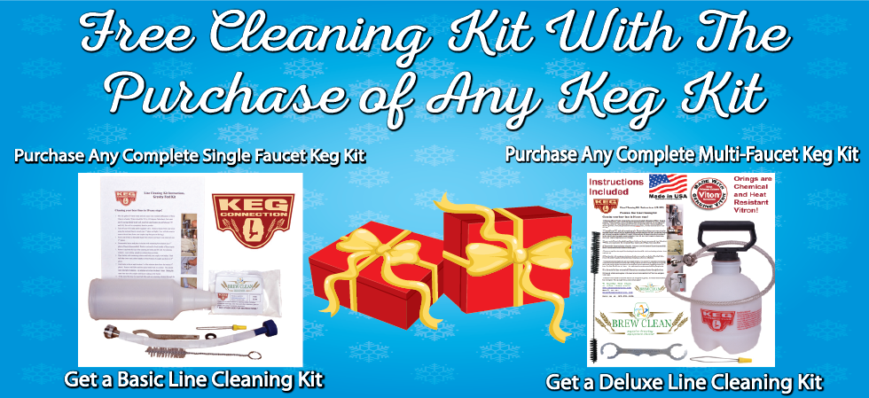 Free Line Cleaning Kit With Keg Kit Purchase Homebrew Finds